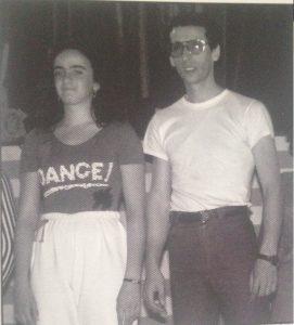 Gli allenatori Marina Meldoli e Rino Campanozzi