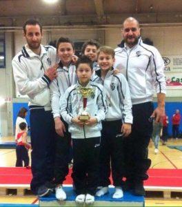 Mestre, 2016. La squadra maschile di serie C vince l'Interregionale